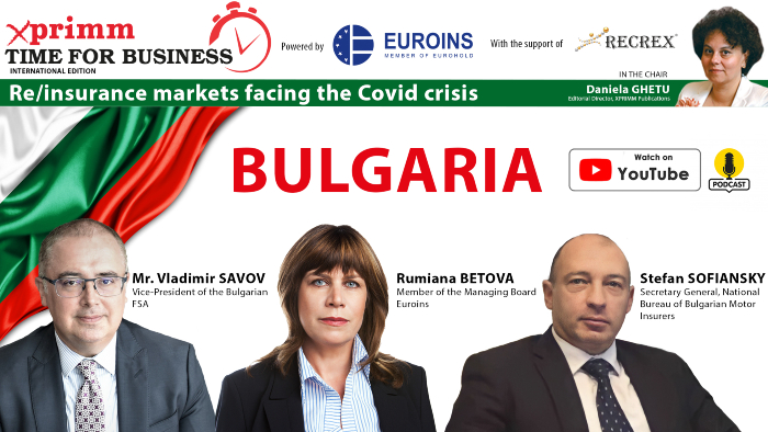 XPRIMM Time for Business: BULGARIA - Re/insurance markets facing the Covid crisis